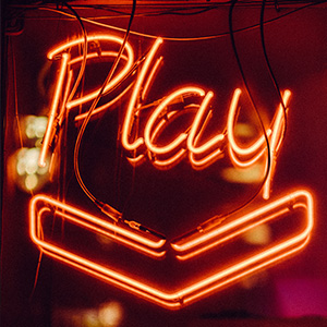 Image of a play sign